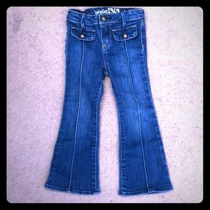 Baby Gap Size 3 Flare Bottom Jeans